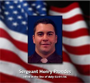 Sgt Henry Prendes with Flag.JPG